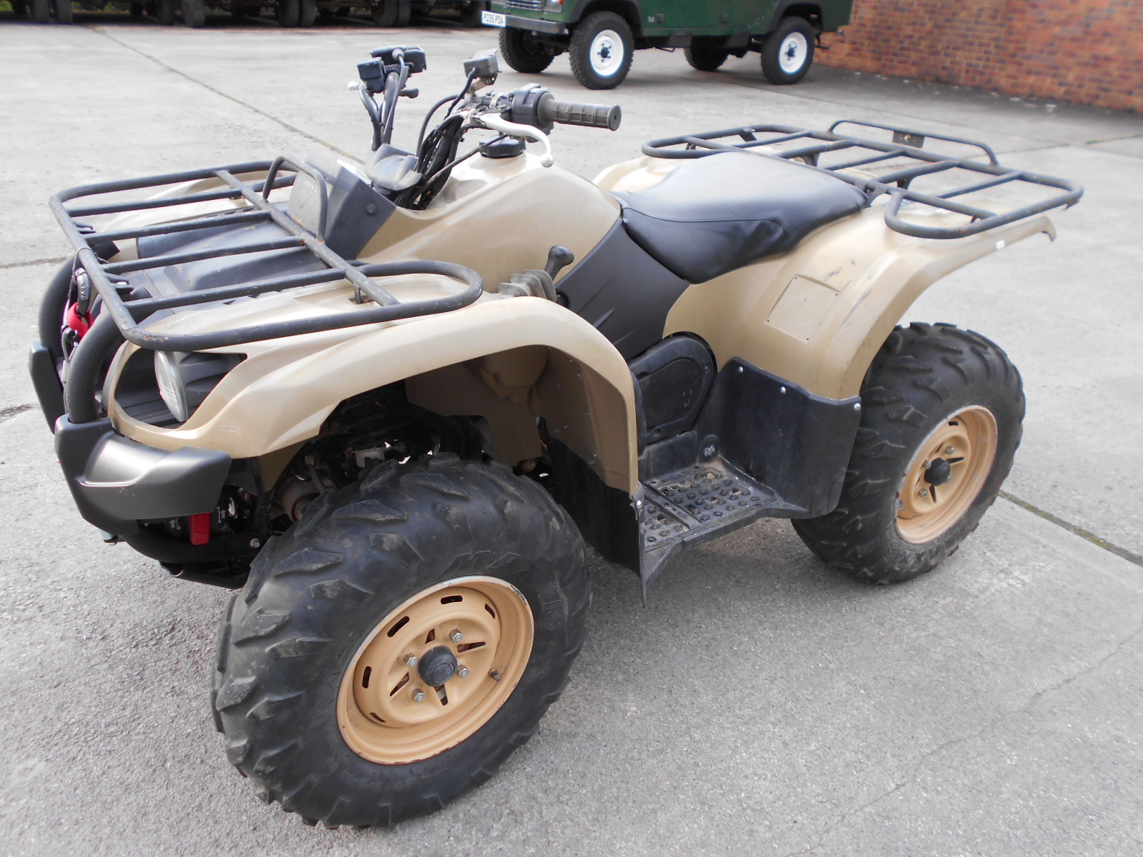 Ex military yamaha grizzly 450 quad no vat for Yamaha grizzly 450 for sale