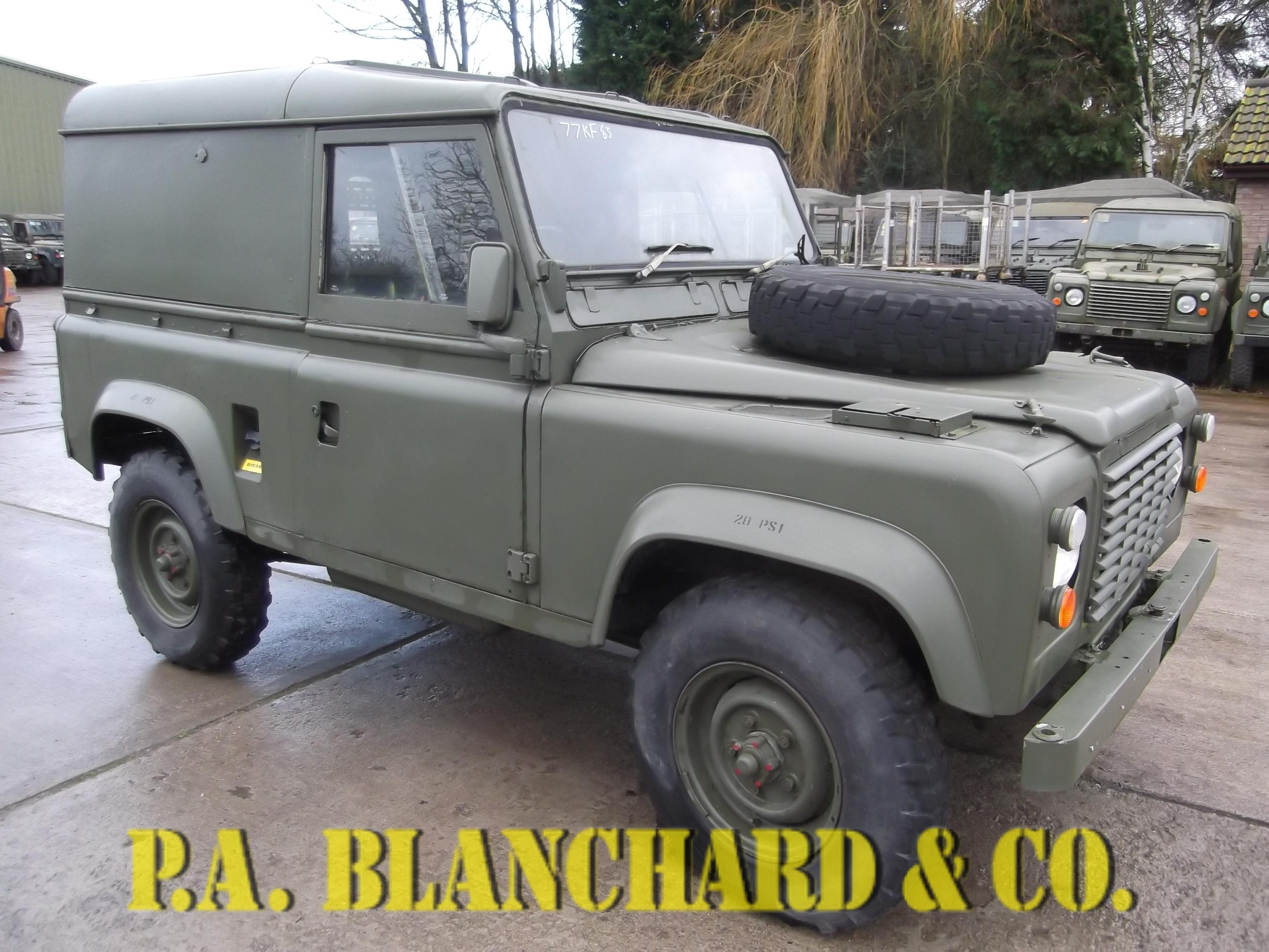 kopie sale rover door land the convertible defender landrovers refurbished marlin landrover for defenders blue